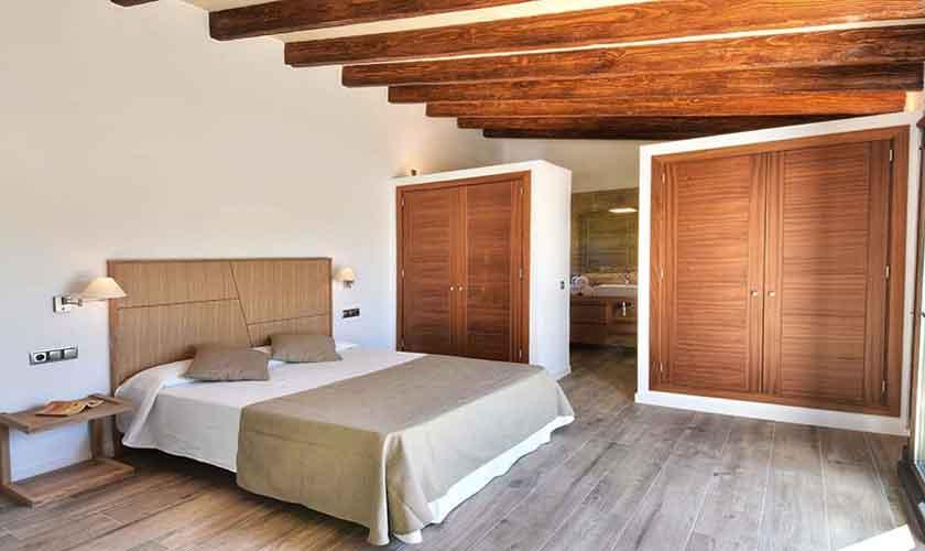 Schlafzimmer Ferienhaus Mallorca Südosten PM 6599