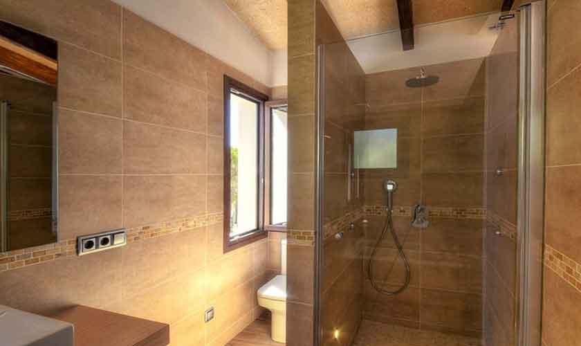 Badezimmer Ferienhaus Mallorca Südosten PM 6599