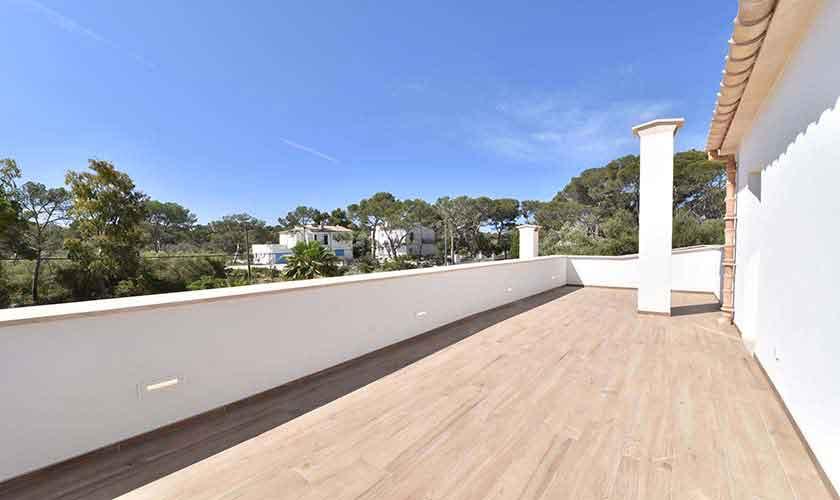 Terrasse oben Ferienhaus Mallorca Südosten PM 6599