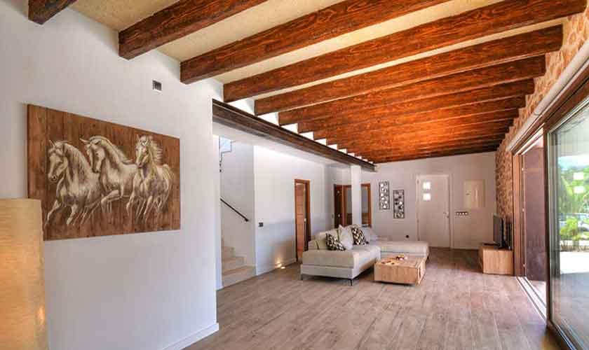 Wohnraum Ferienhaus Mallorca Südosten PM 6599