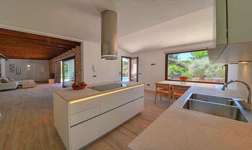 Küche Ferienhaus Mallorca Südosten PM 6599