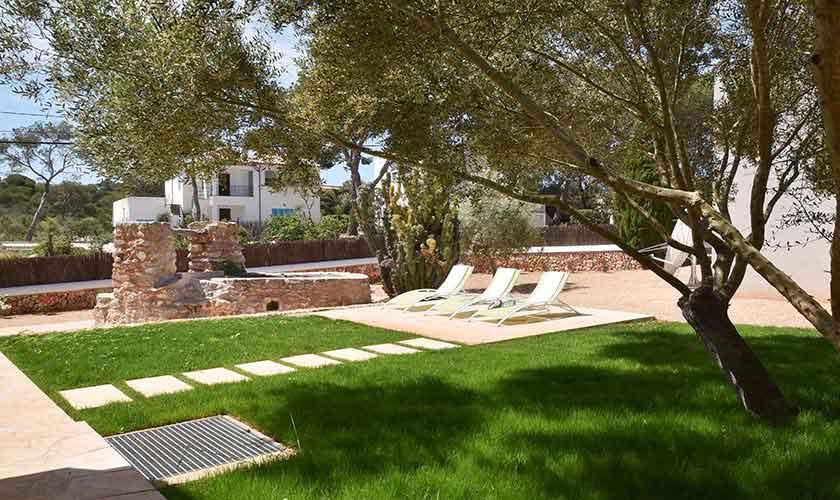 Garten Ferienhaus Mallorca Südosten PM 6599