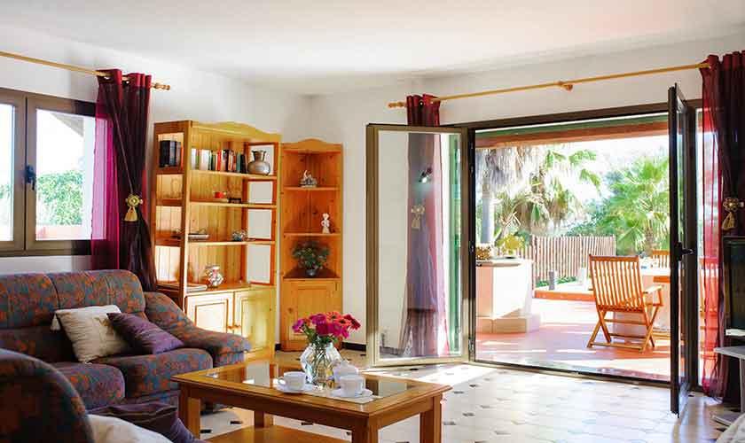 Wohnraum Ferienfinca Mallorca 4 Personen PM 6600