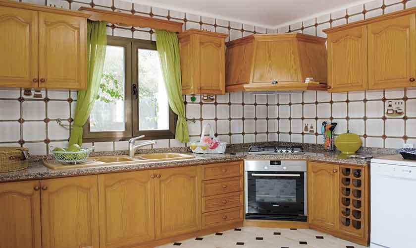 Küche Ferienfinca Mallorca 4 Personen PM 6600
