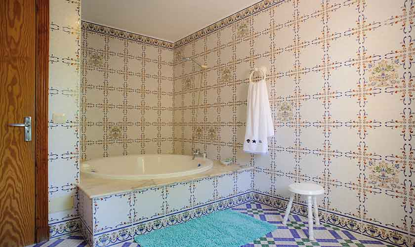 Badezimmer Ferienfinca Mallorca 4 Personen PM 6600