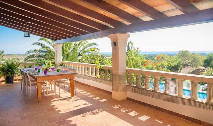 Terrasse Finca Mallorca PM 6606
