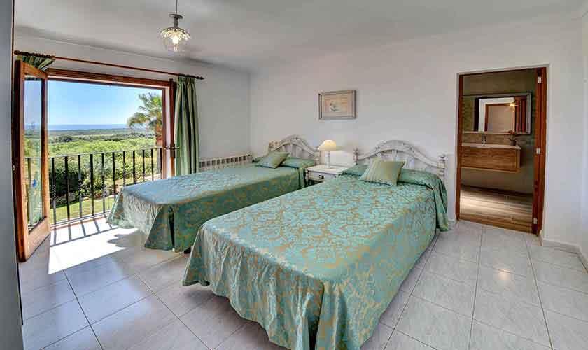 Schlafzimmer Finca Mallorca PM 6606
