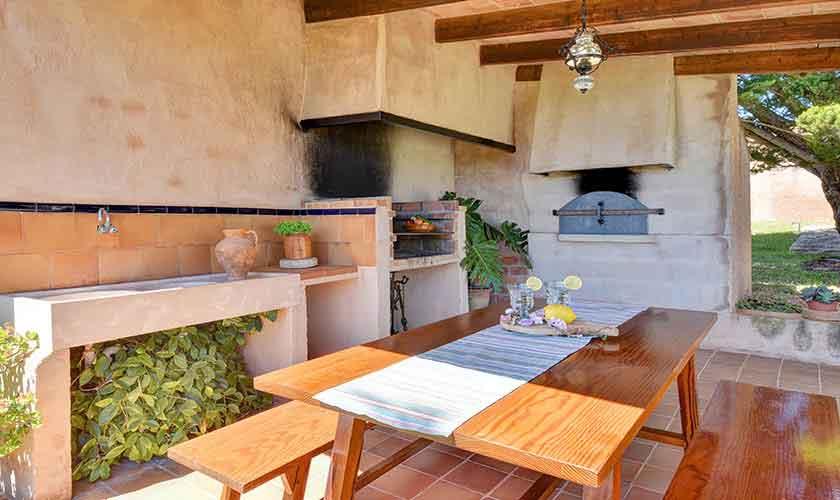 Barbecue Terrasse Finca Mallorca PM 6606