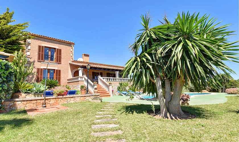 Blick auf die Finca Mallorca PM 6606