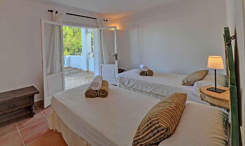 Schlafzimmer Ferienvilla Mallorca Cala d´Or