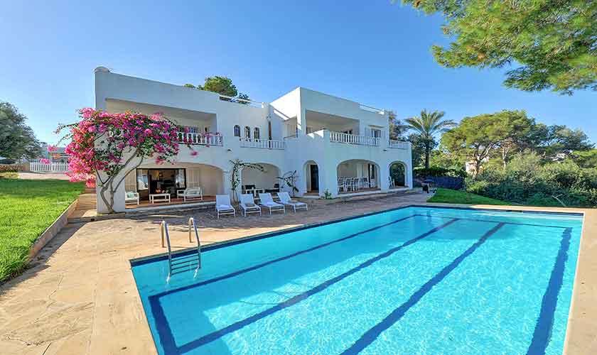 Pool und Ferienvilla Mallorca Cala d´Or PM 6608