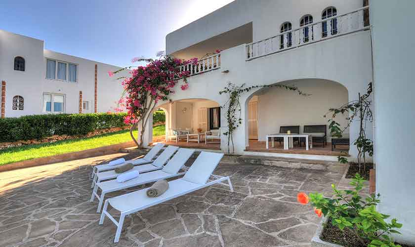 Terrasse Ferienvilla Mallorca Cala d´Or