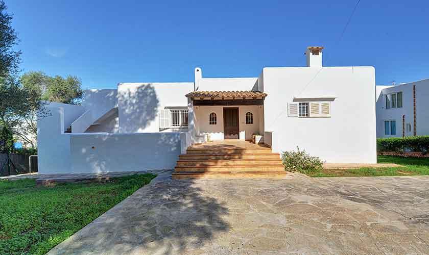 Blick auf die Ferienvilla Mallorca Cala d´Or