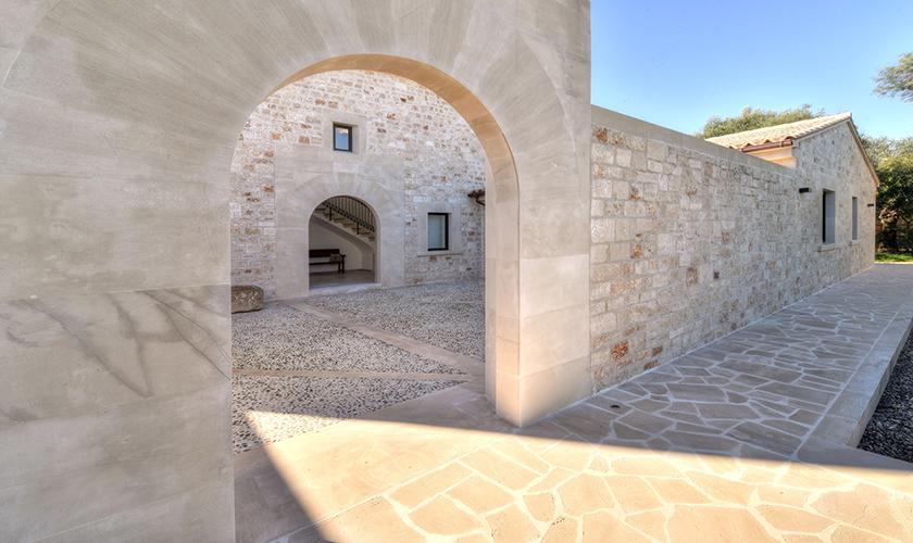 Blick auf das Ferienhaus Mallorca Ostküste PM 6610
