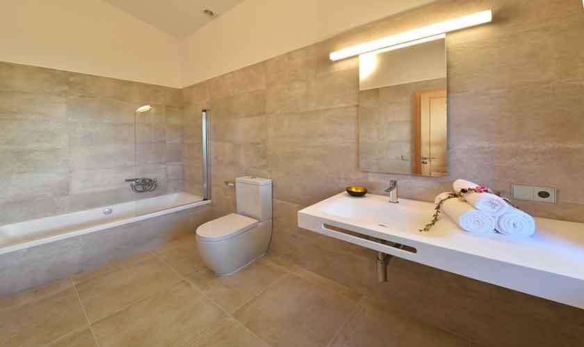 Badezimmer Ferienhaus Mallorca Ostküste PM 6610