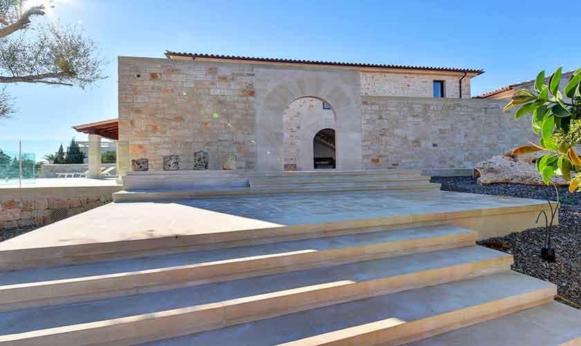 Treppe Ferienhaus Mallorca Ostküste PM 6610