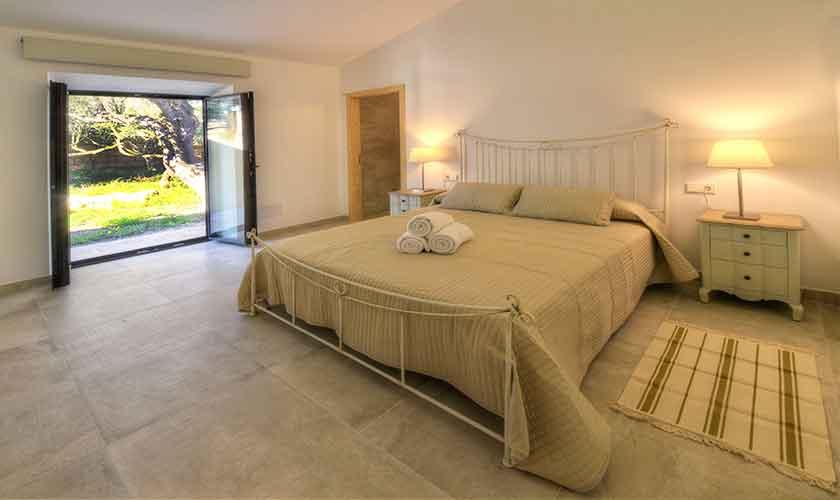 Schlafzimmer Ferienhaus Mallorca Ostküste PM 6610