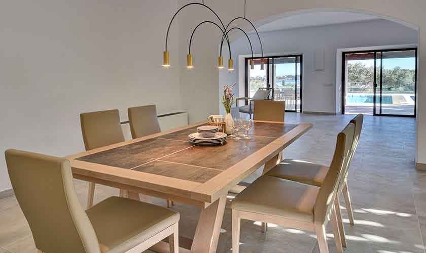 Esstisch Ferienhaus Mallorca Ostküste PM 6610