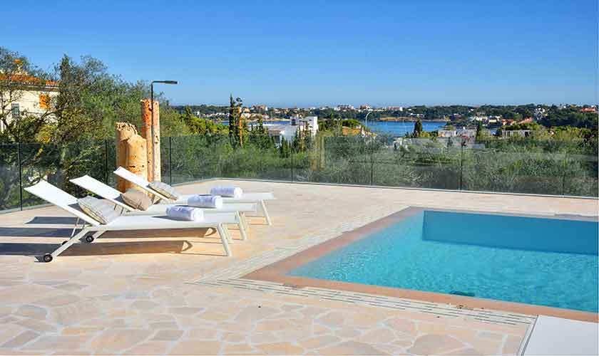 Pool und Terrasse Mallorca Ostküste PM 6610