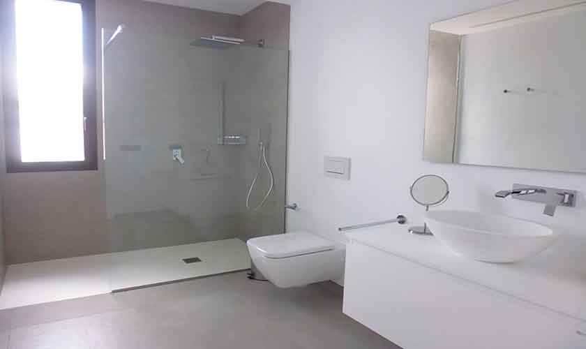 Badezimmer Ferienhaus Mallorca mit Pool PM 6615