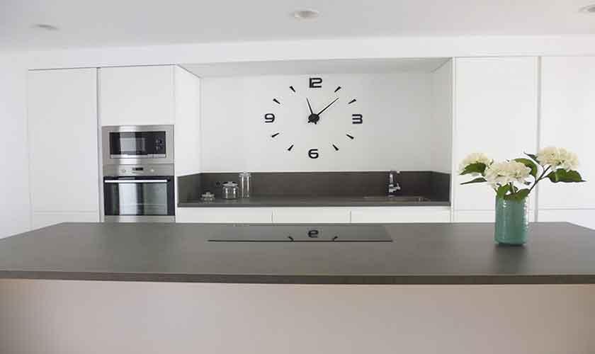 Küche Ferienhaus Mallorca mit Pool PM 6615