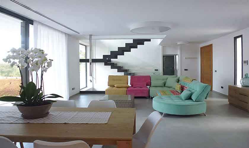Wohnraum Ferienhaus Mallorca mit Pool PM 6615