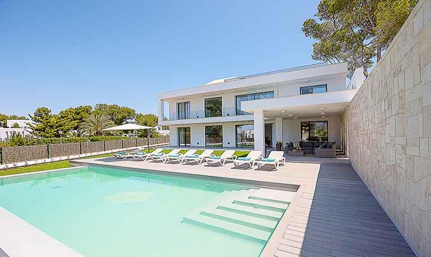 Pool und Ferienvilla Mallorca pM 6615
