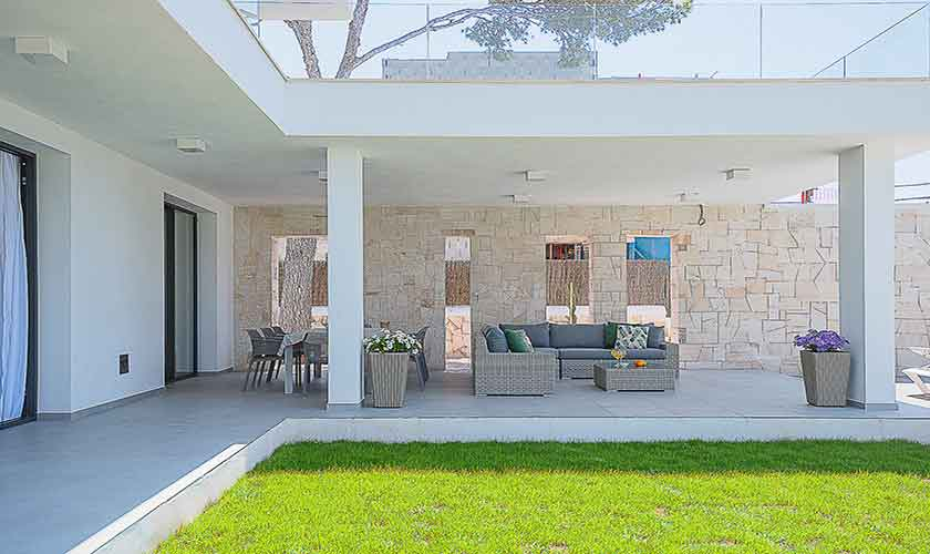 Terrasse und Ferienvilla Mallorca pM 6615