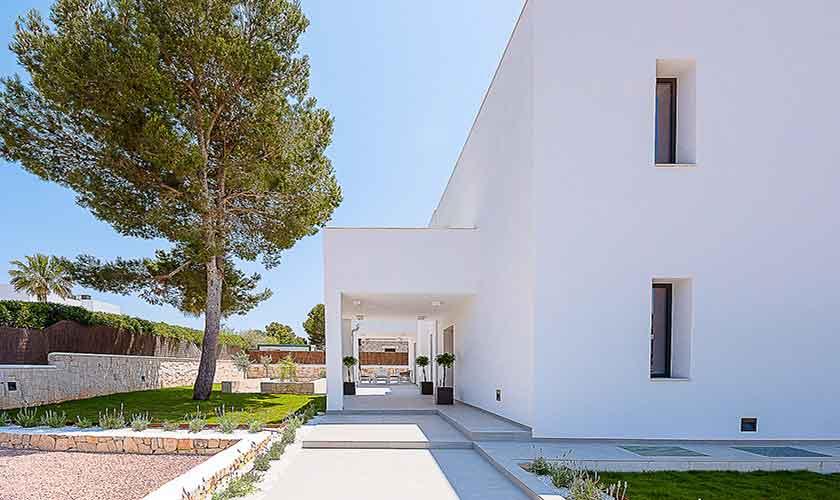 Blick auf die Ferienvilla Mallorca pM 6615