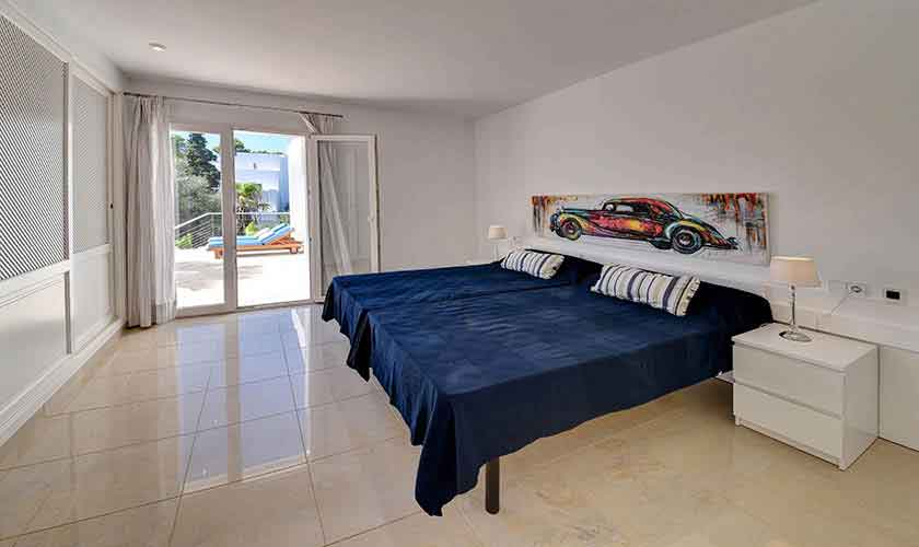 Schlafzimmer Ferienhaus Mallorca PM 6616