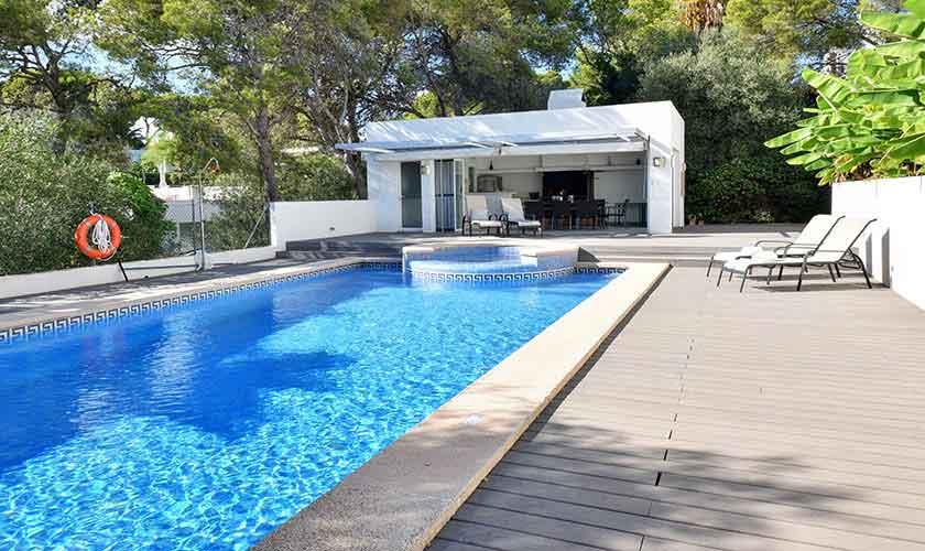 Poolblick Ferienhaus Mallorca PM 6616
