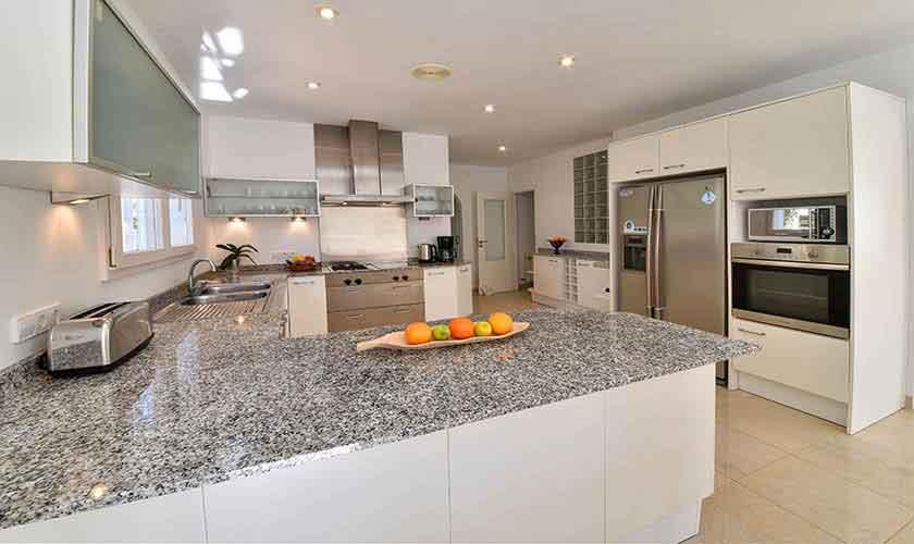 Küche Ferienhaus Mallorca PM 6616