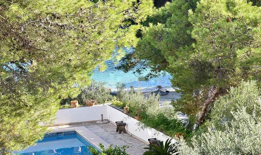 Pool und Strand Ferienhaus Mallorca PM 6616