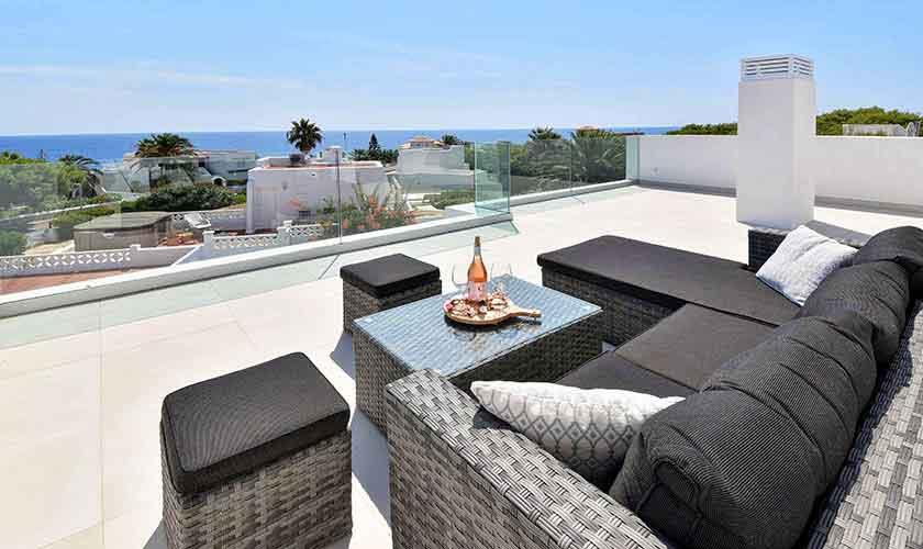 Dachterrasse Ferienvilla Mallorca PM 6617