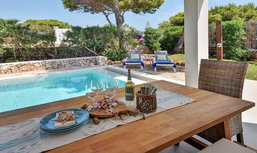 Pool und Terrasse Ferienvilla Mallorca PM 6617