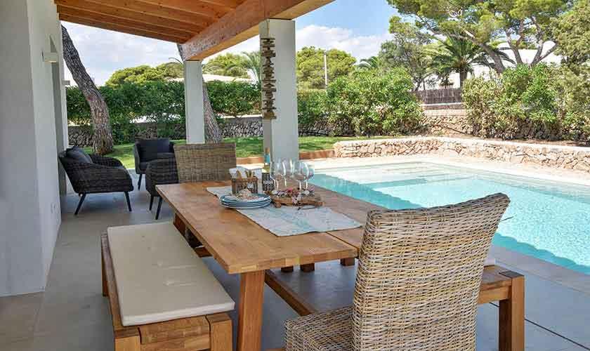 Terrasse Ferienvilla Mallorca PM 6617