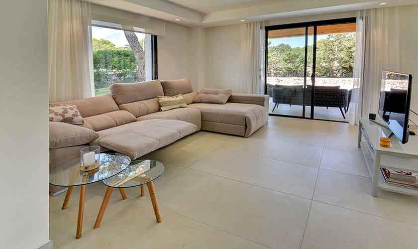 Wohnraum Ferienvilla Mallorca PM 6617