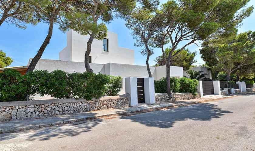 Eingangstor Ferienvilla Mallorca PM 6617