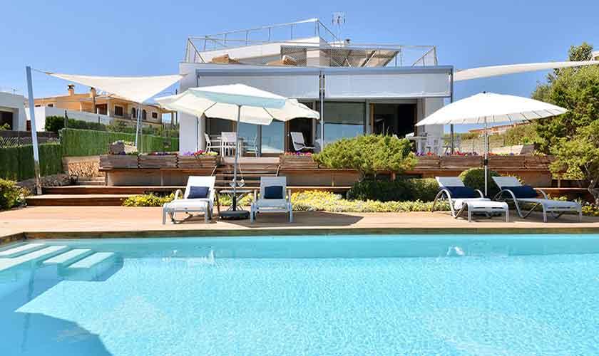 Pool und Ferienvilla Mallorca PM 6618
