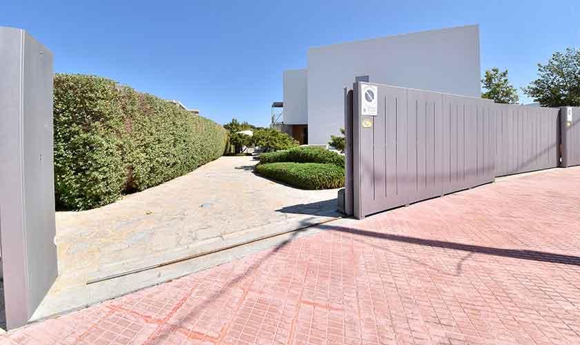 Blick auf die Ferienvilla Mallorca PM 6618