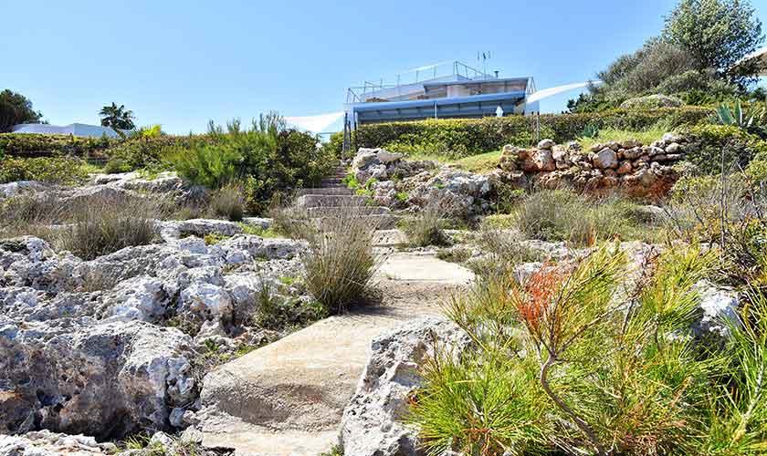 Meereszugang Ferienvilla Mallorca PM 6618