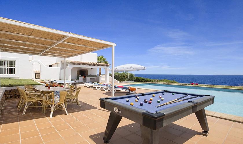 Billard Mallorca Villa am Meer PM 6618