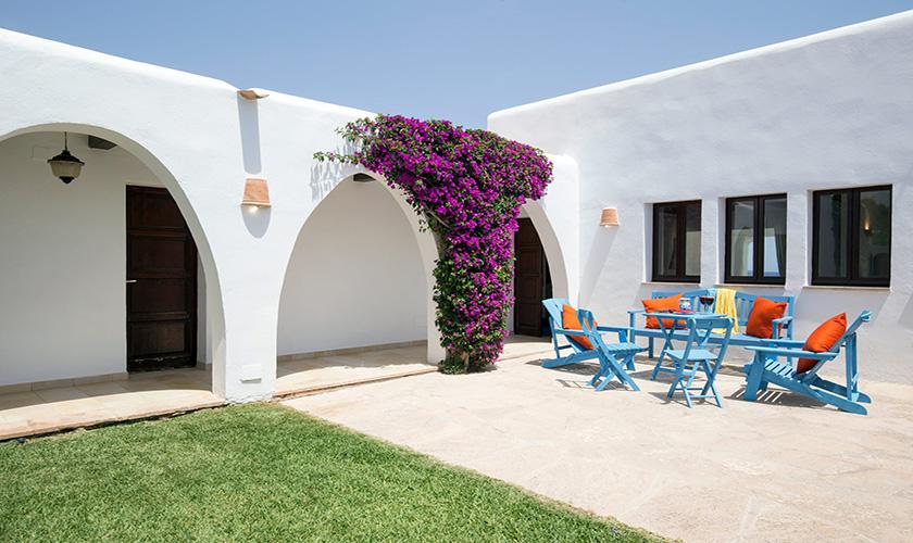 Innenhof Mallorca Villa am Meer PM 6618