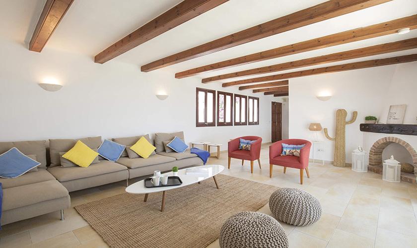 Wohnraum Mallorca Villa am Meer PM 6618