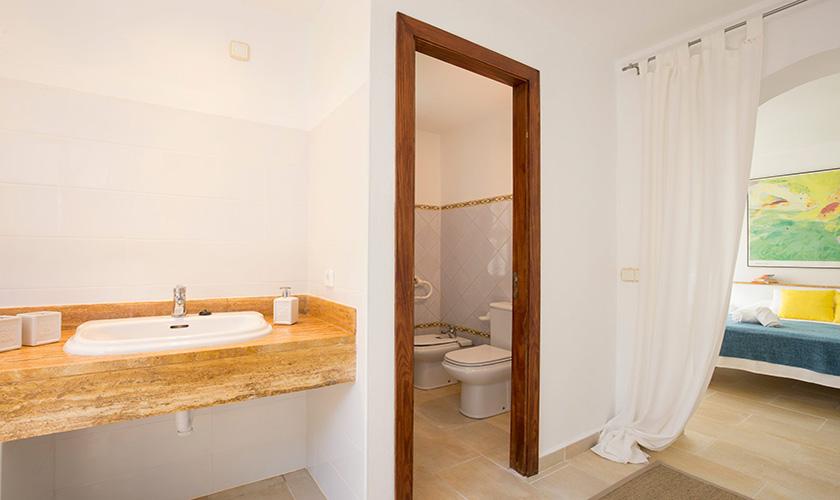 Badezimmer Mallorca Villa am Meer PM 6618