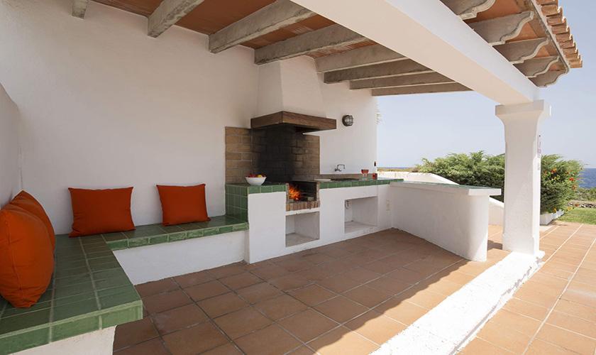 Überdachte Terrasse Mallorca Villa am Meer PM 6618