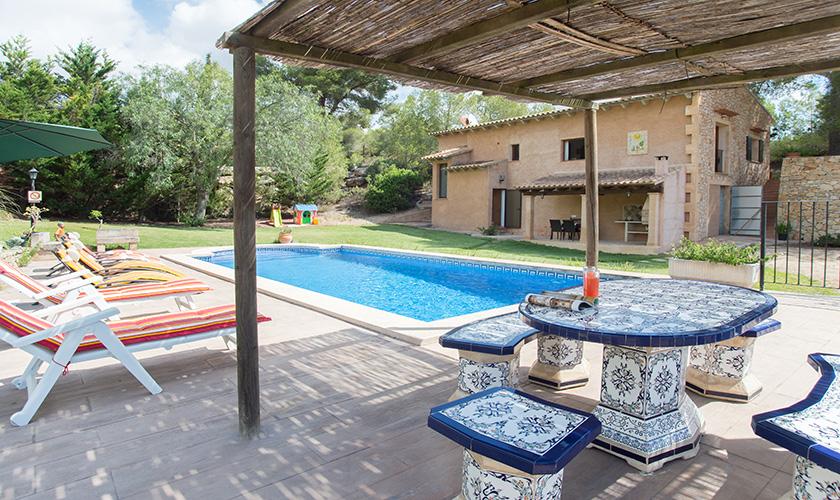 Pool und Terrasse Finca Mallorca PM 6620