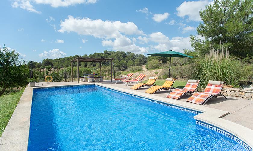 Poolblick Finca Mallorca PM 6620