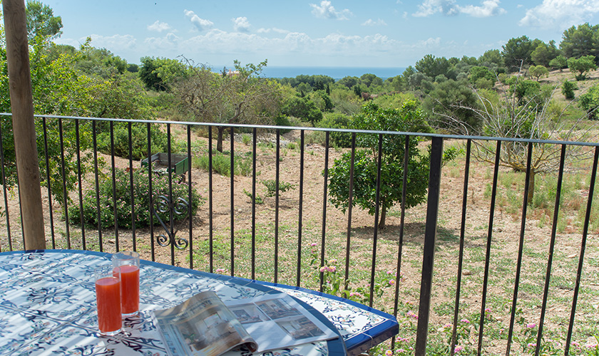 Blick in die Landschaft Finca Mallorca PM 6620
