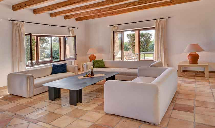 Wohnraum Finca Mallorca Südosten PM 6621